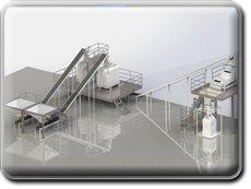 Участок приема и гранулирование отходов химического производства